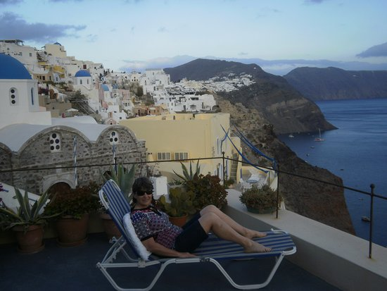 Old Oia Houses Photo