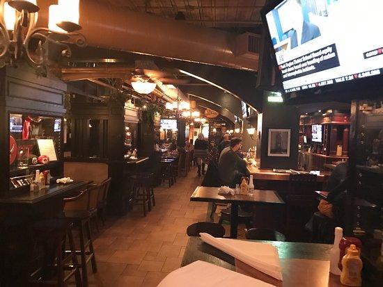 The Overdraught Irish Pub Toronto Old Toronto Menu