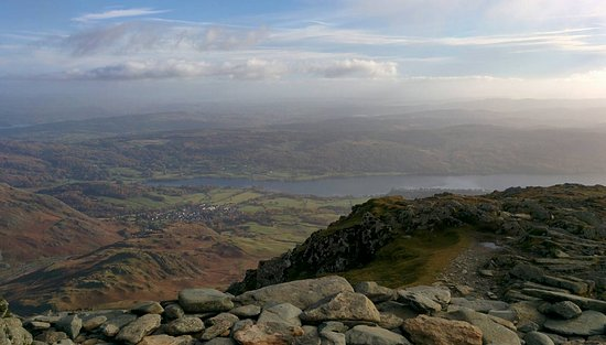 On top of the Old Man of Coniston