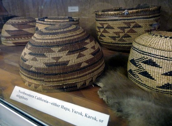 Murphys, CA: Native American baskets from California tribes.
