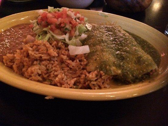 Saugus, MA: Enchilada Verde
