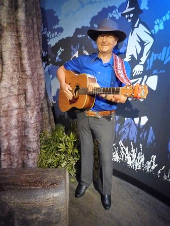 Madame Tussauds Sydney: The King of Country and western Music---Slim Dusty