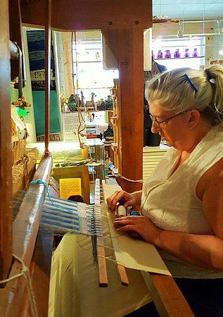 Lost River, WV: Weaving demonstrations most weekends. You'll be fascinated by the work of our loom doscent, Siss