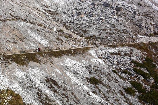 Selva di Val Gardena, Italie : ドライチーネンへの道