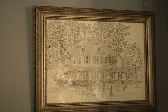 Prattville, AL: Drawing of the Smith-Byrd House