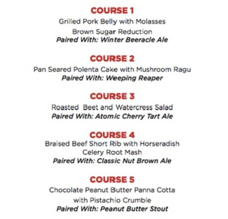 White Rock, Καναδάς: The Hemingway Presents A 5 Course Dead Frog Brewery Pairing Dinner – November 24, 2016