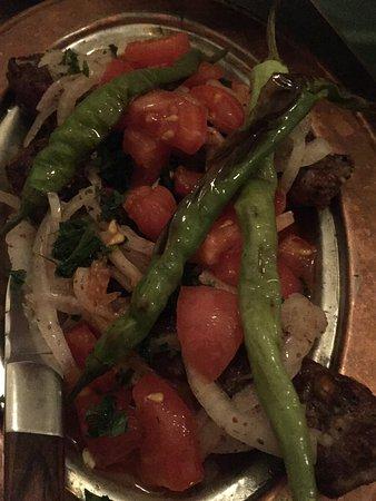 Enmore, Australie : grilled beans salad