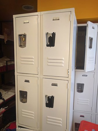 Lockers Picture Of Miami Party Hostel