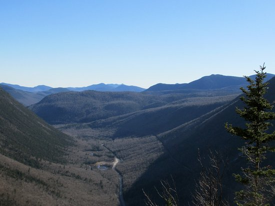 Hart's Location, NH: View from the top of Mt. Willard