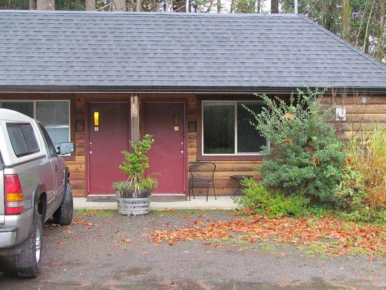 Quilcene, واشنطن: Mount Walker Inn,(motel) Quilcene, Washington