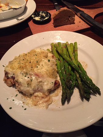 Heath, OH: Parmesan crusted chicken