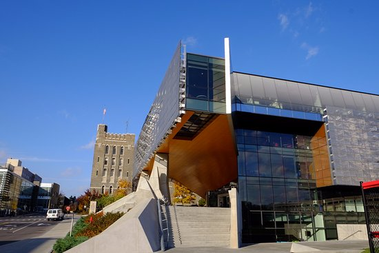 Bill and Melinda Gates Hall Picture of Cornell University Ithaca