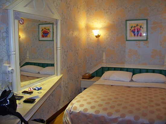 Gwo Shiuan Hotel: Basic room with double bed
