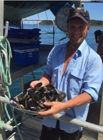 Balnarring, Australia: We buy fresh seafood from Harry the Mussel Man in Flinders