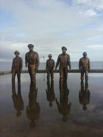 Leyte Island, Filipiny: Great homage to a great man.