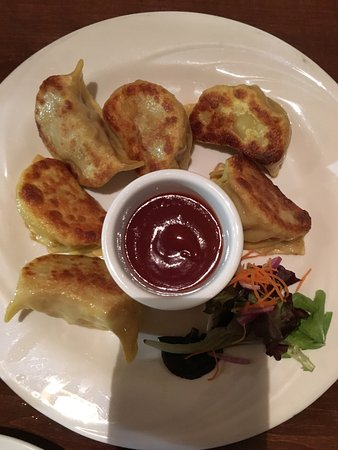 Devon, PA: pan fried dumplings