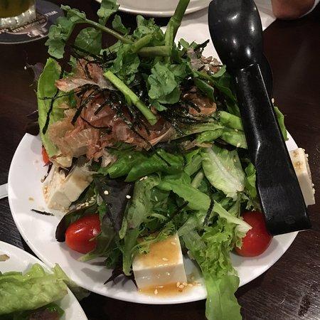 Side Street Inn: Tofu salad
