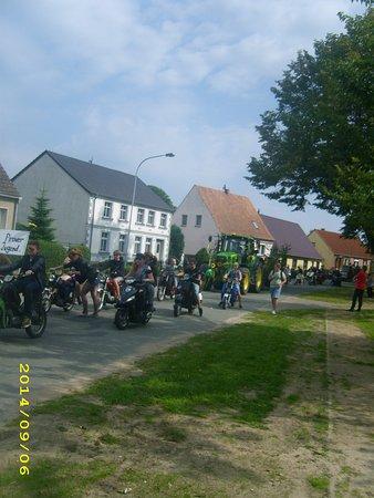 Brandenburg, Germany: ausflug mit simson und vespa.