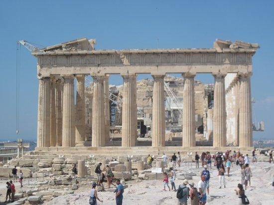Marathon, Grécia: acropole