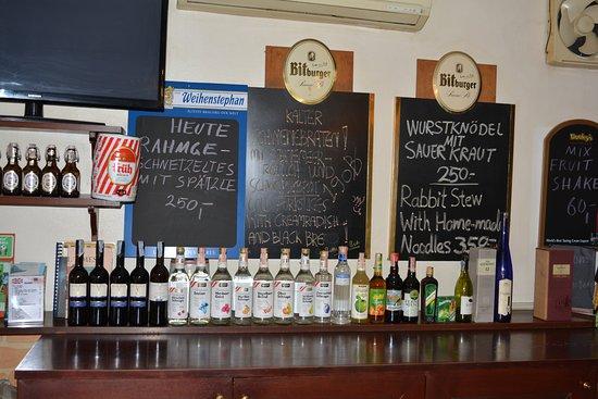 Little Austria Tams Guesthouse : Austrian specialities
