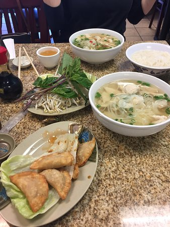 Fairview, TX: Great Pho on a chilly day!