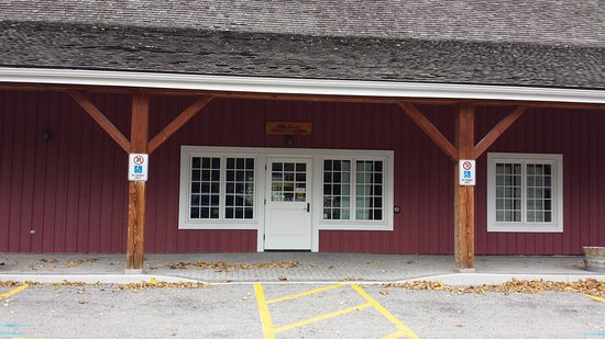 Queenston, Canada: The visitor's centre