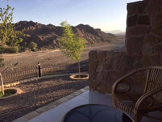 Terrace view of the wadi