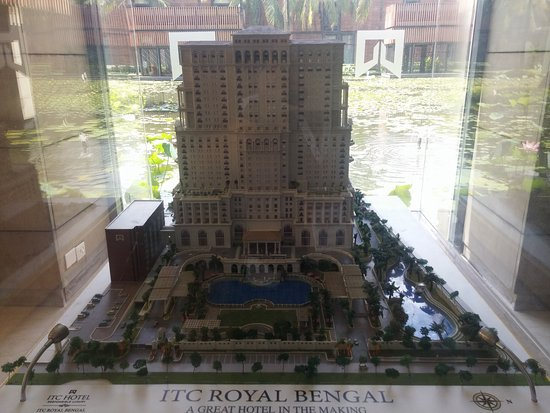 Itc Sonar Model Of New Hotel Coming Up