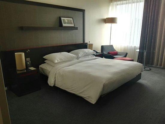 Hilton London Canary Wharf: Spacious bedroom
