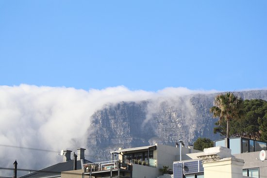 Sugar Hotel & Spa: View of signal hill from Room 5.