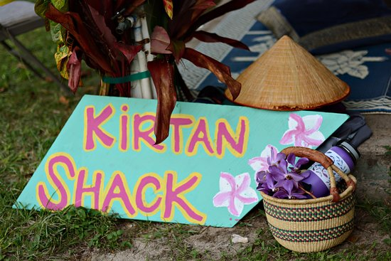Anahola, Hawái: Kirtan Shack is the place to be