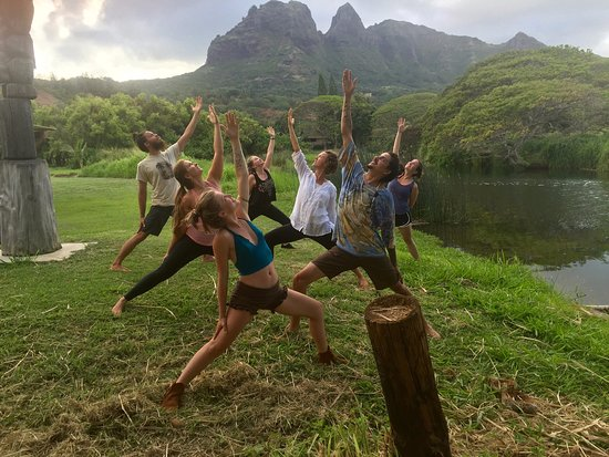 Anahola, Hawaï: Yoga By Donation Every Sunday at the Bhakti Yoga Shack