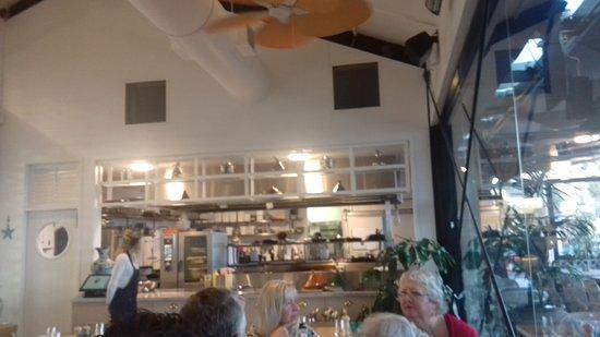 Devonport, Nueva Zelanda: Si mangia bene e sei su di una palafitta con vista città