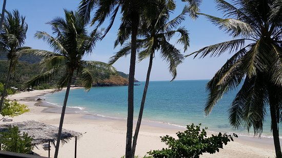 View from Seaview Deluxe 2nd floor at Anda Lanta Resort