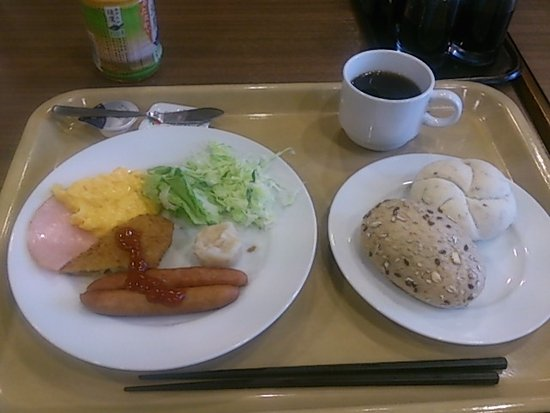 Hotel Route Inn Court Ina: 朝食の様子