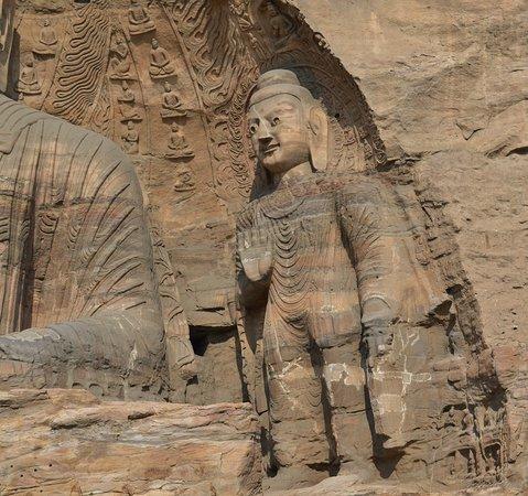 Datong, China: Будда Прошлого.