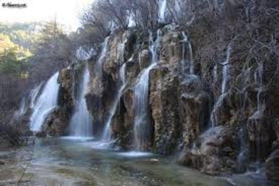 Poyatos, Spain: Nacimiento del Río Cuervo. Próximo a Casa de las Hazas