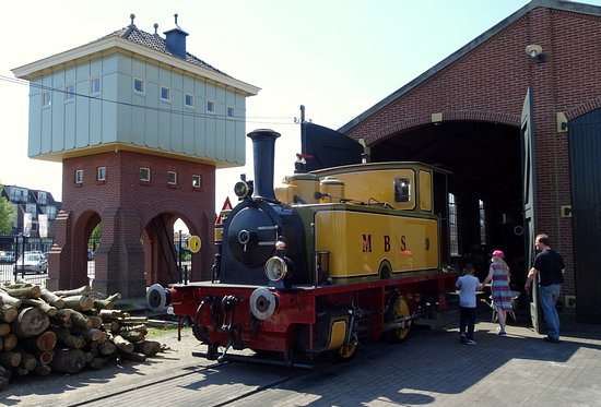 Museum Buurtspoorweg: Einer der Eisenbahnschuppen