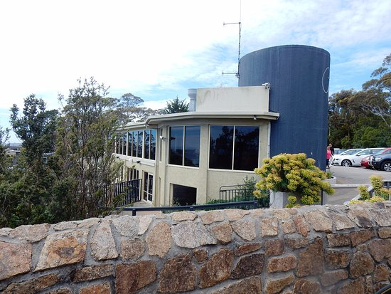 Dromana, Australia: The restaurant from the lookout.