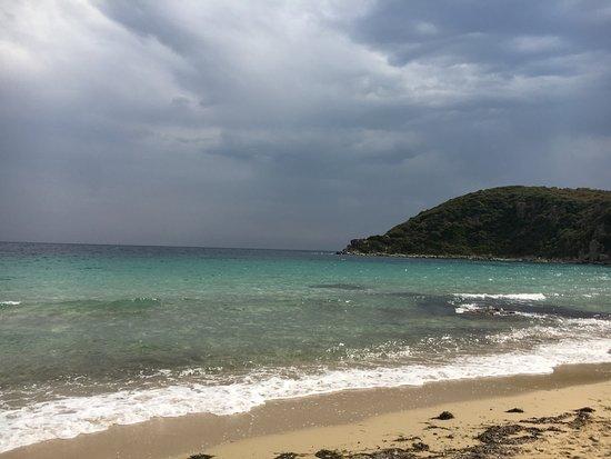 Nea Peramos, Hellas: Даже при респокойном море место отличное!