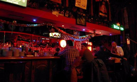 Stara Zagora, Bulgaria: Bar early evening Friday 18th November 2016