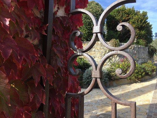 La Cadiere d'Azur, Frankrike: Entrée portail