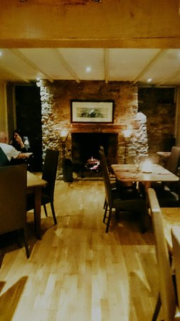 Uffculme, UK: Our cosy winter fire