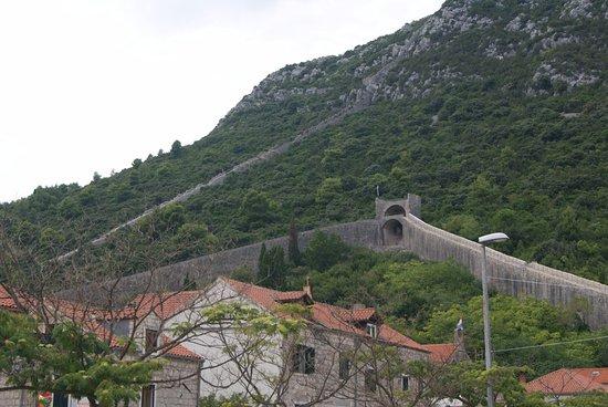 Ston City Walls: VISTA