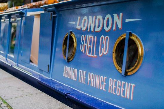 London Shell Co Signage Kuva London Shell Co Aboard The