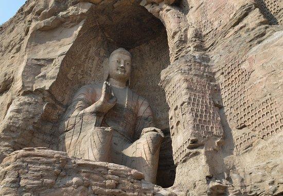 Datong, China: Будда, гроты 19-20.