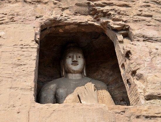 Datong, Chiny: Будда.