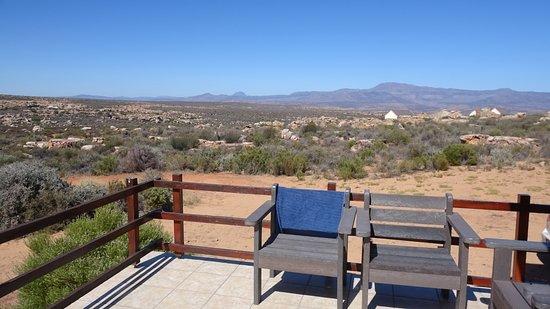 Kagga Kamma Private Game Reserve, Sudáfrica: View form lounge