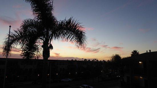 Sands Of La Jolla : Kvällstsikt från balkongen