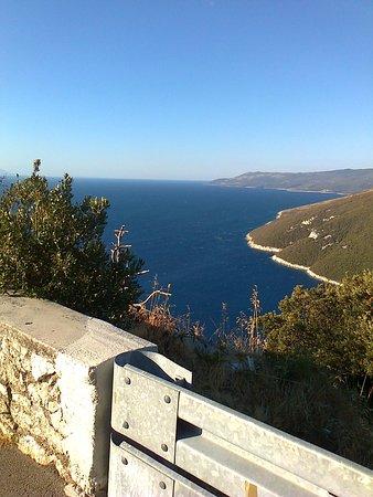 Otocac, Kroatien: lasciando la litorale...